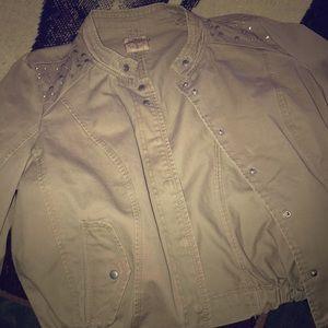 Jackets & Blazers - Beaded biker jacket